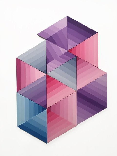 Edward Granger, 'Prism Field', 2015, Painting, Acrylic on triangulated sculpted canvas, VICTORI+MO CONTEMPORARY