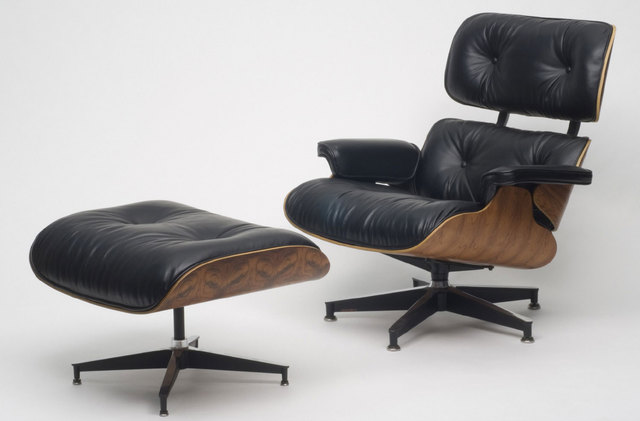 , 'Lounge Chair and Ottoman,' 1956, Philadelphia Museum of Art
