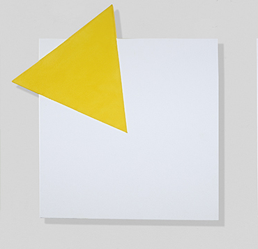 , 'Yellow, On and Off,' 2018, Berry Campbell Gallery