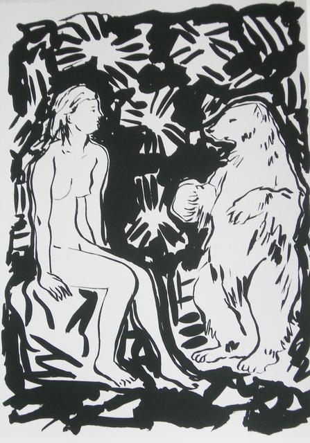, 'Desnudo y oso,' 2009, Fontanar Art Editions
