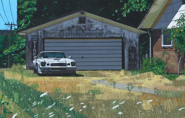 Doug Fraser, 'Camaro & Garage', ca. 2017, Winchester Galleries
