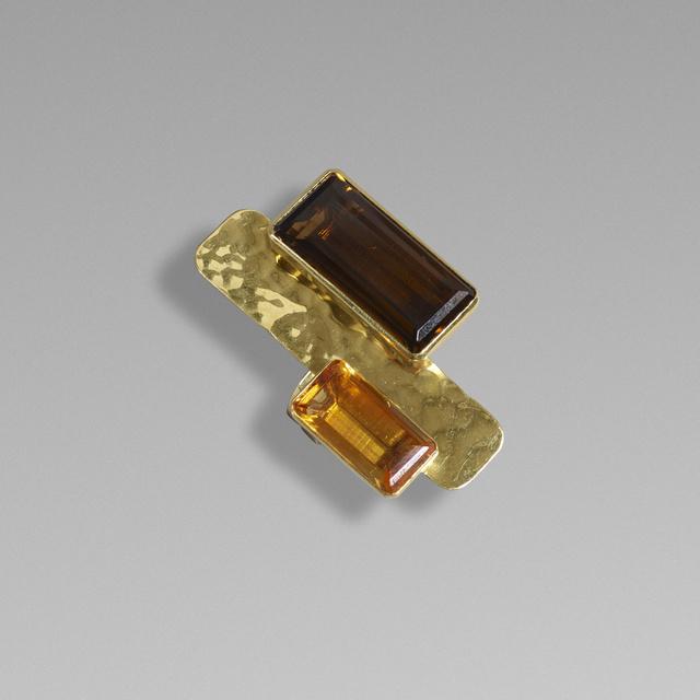 Robert Lee Morris, 'Gold and quartz ring', Wright