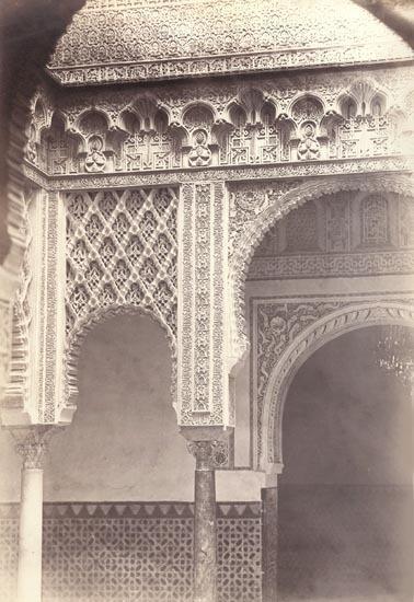 Charles Clifford, 'Alcazar Real, Patio de la Munecas, Spain', 1862/1862c, Contemporary Works/Vintage Works