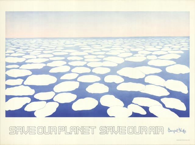 Georgia O'Keeffe, 'Save our Planet Save our Air', 1971, Print, Stone Lithograph, ArtWise