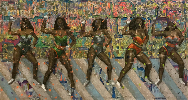 , 'Five Rattlers Wide,' 2018, Nina Johnson