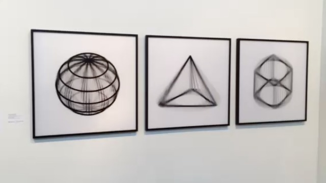 Francois Wunschel, 'Geometric Rotation #1', 2015, Muriel Guépin Gallery