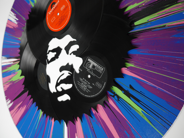 , 'Jimi in a Spin,' , Gallery Different