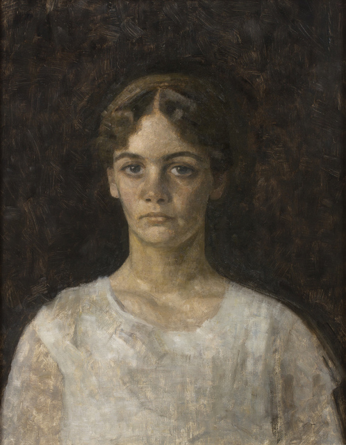 , ' Portrait of Miss Else Aagesen,' 1913, CFHILL