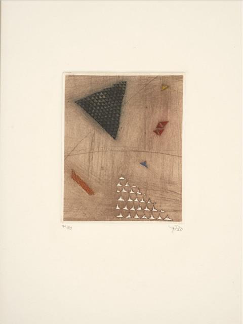 Arthur Luiz Piza, 'No title', ca. 1970, Print, Engraving, Le Coin des Arts