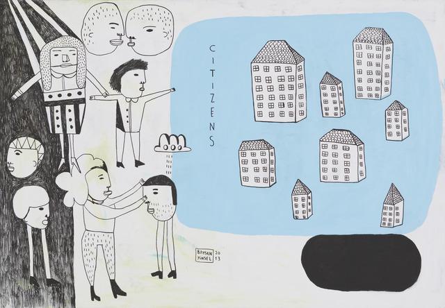 """, '""""CITIZENS"""" // """"VATANDAŞLAR"""",' 2013, Art Next Istanbul"""