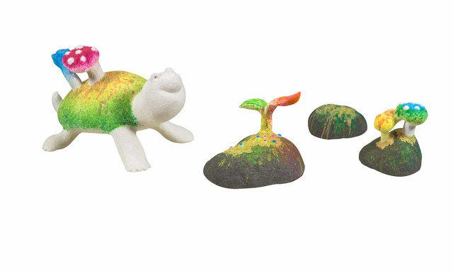 , 'Little Turtle and Stones in Rainbow Rain Village,' 2016, Liang Gallery