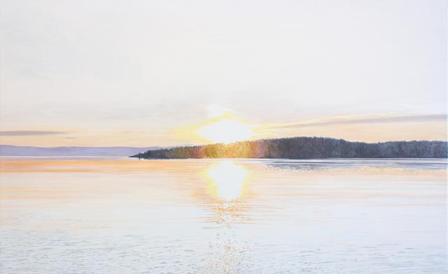 , 'Soleil couchant (Kamouraska, Québec),' 2019, Galerie D'Este