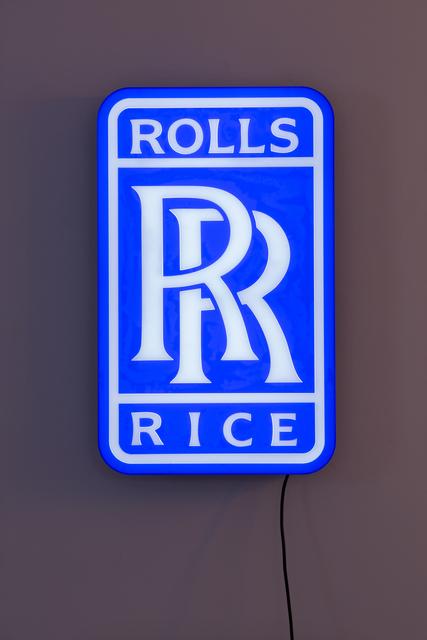 , 'Rolls Rice,' 2016, Dio Horia
