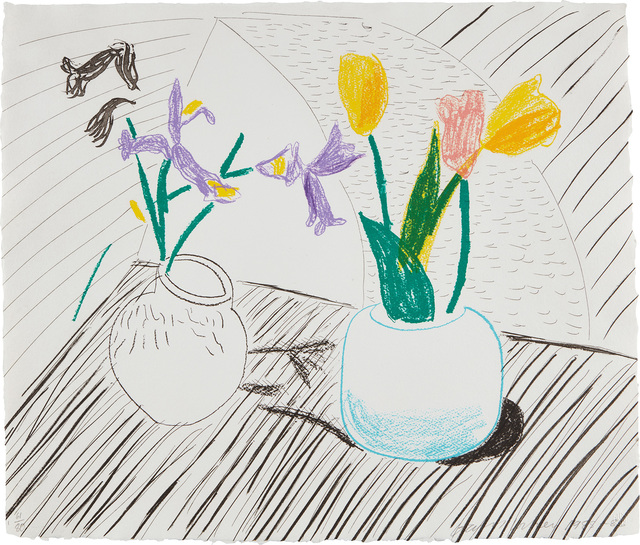 David Hockney, 'White Porcelain, from Moving Focus series', 1985-86, Phillips