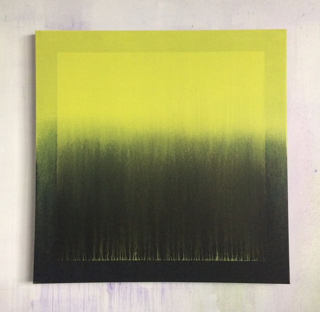 , 'Carré jaunit dans carré jaunit,' 2017, GALERIE BENJAMIN ECK