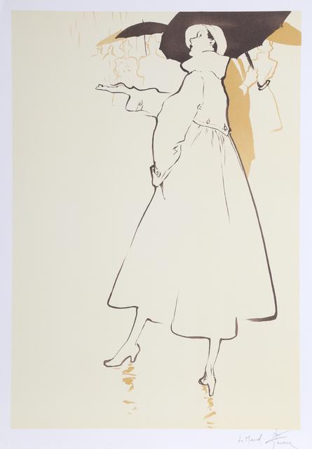 René Gruau, 'Rainy Day', ca. 1990, RoGallery
