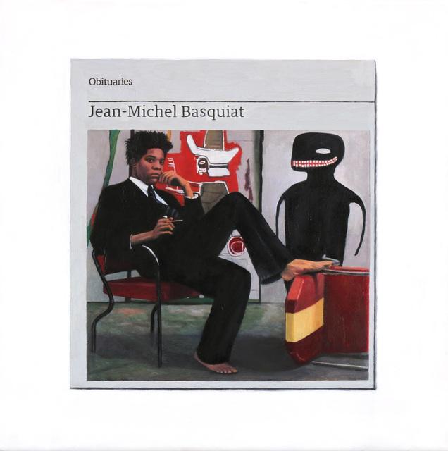 , 'Obituary: Jean-Michel Basquiat ,' 2018, Charlie Smith London