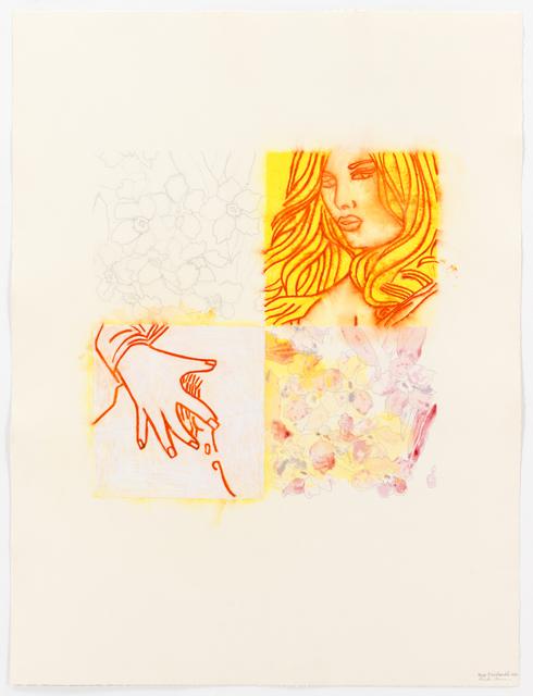 Ghada Amer & Reza Farkhondeh, 'Un Quart B', 2010, KEWENIG