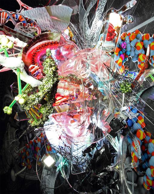 , 'Higgs Boson God Particle #2,' 2012, IFAC Arts