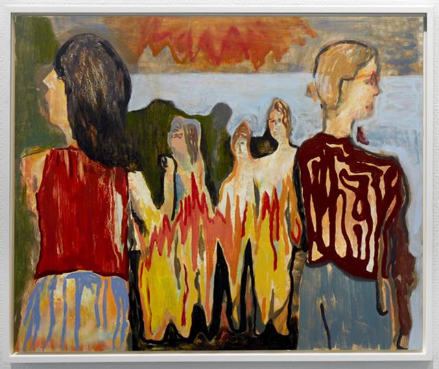Sam Bornstein, 'The Phone Call (Open Air Party)', 2018, Galerie Moderne Silkeborg