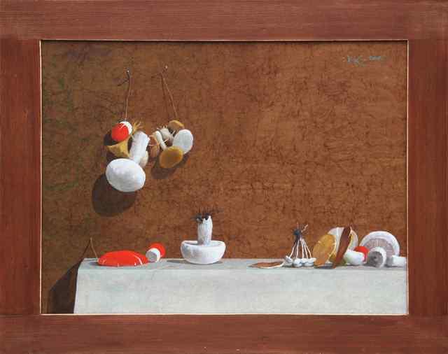 , 'Mushrooms,' 2017, Vanda Art Gallery