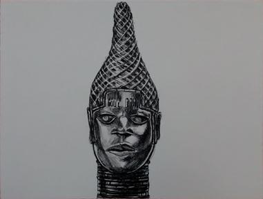 Robert Pruitt, 'Benin Head', 2014, Tamarind Institute
