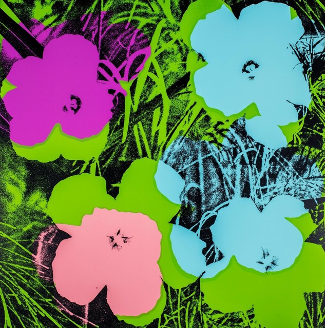 Andy Warhol, 'Flowers', 1970, Print, Screenprint in colours, Finarte