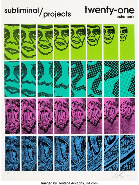 Shepard Fairey, 'Twenty-One', 2017, Heritage Auctions