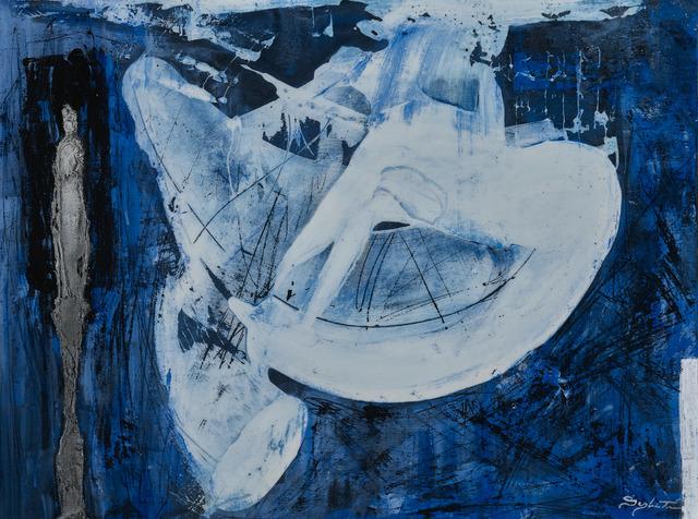 Sylvain Tremblay, 'Atmosphère des bleus', 2017, Thompson Landry Gallery