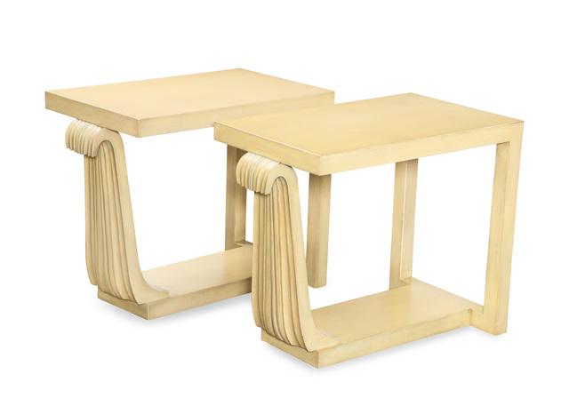 , 'Unique Pair of Side Tables by James Dolena,' ca. 1946, Donzella 20th Century Gallery