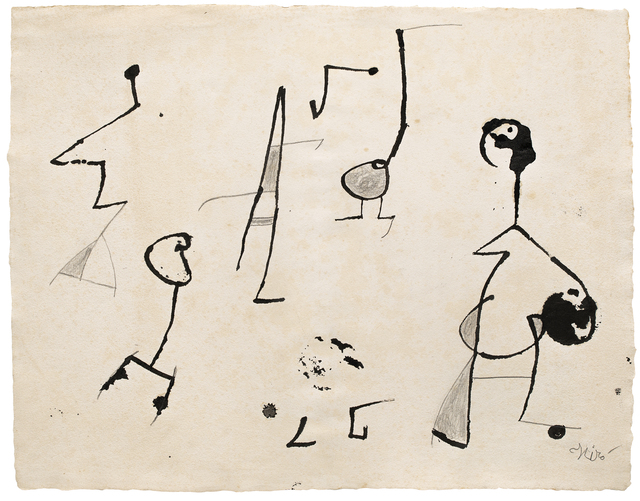 Joan Miró, 'Femmes, oiseaux', 1978, Galerie Lelong & Co.