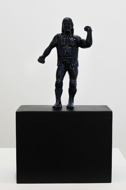 , 'Catcheur Bleu Marine,' 2015, Galerie Duret