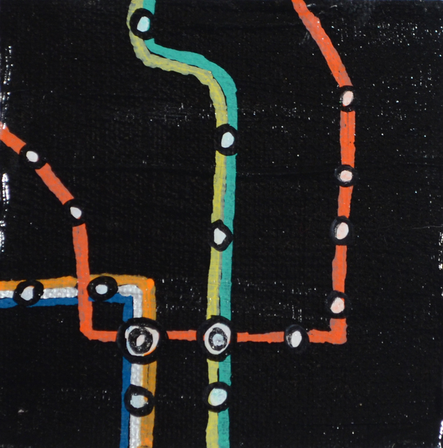 , 'Metro Center,' 2015, Fountain House Gallery