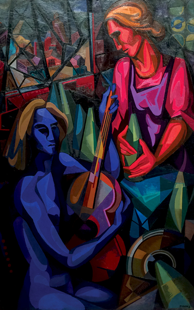 , 'Ballad for Two Women,' 1940, Caldwell Gallery Hudson