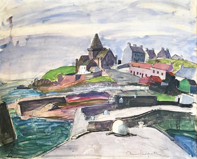 , 'St Monans, Fife,' 1952, The Scottish Gallery