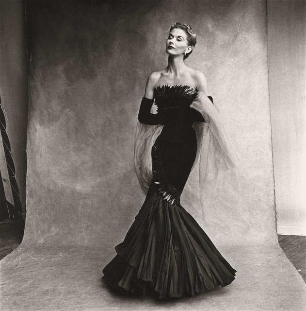 Irving Penn, 'Mermaid dress (Lisa Fonssagrives-Penn), Paris', 1950, Atlas Gallery