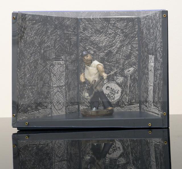 , 'Basspieler,' 2015, Galerie Krinzinger