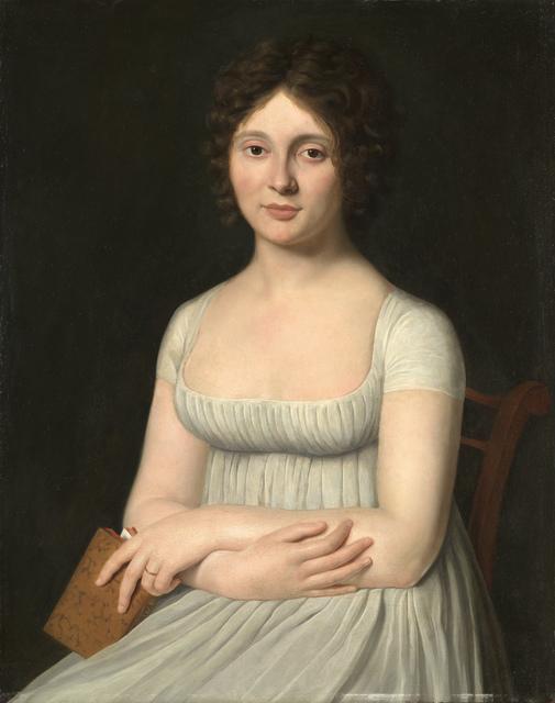 , 'Portrait of two noblewomen of the Guerinais Family,' 1790-1795, Brun Fine Art