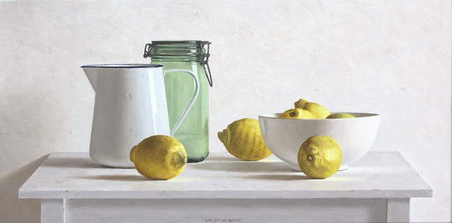 , 'Can, pot, bowl and 6 lemons,' 2018, Smelik & Stokking Galleries