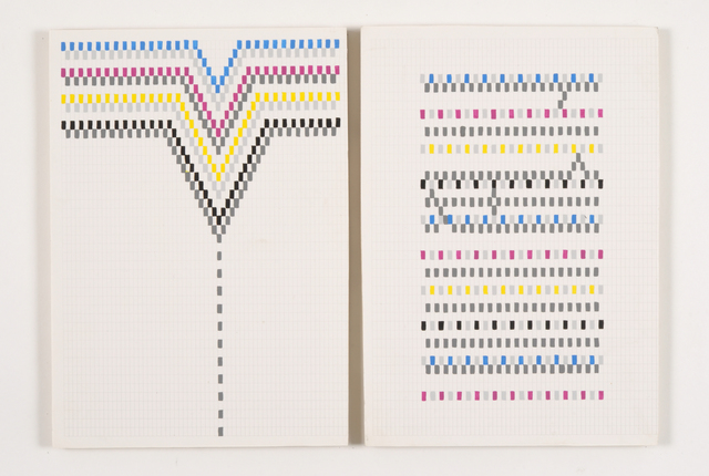 Vanessa Hodgkinson, 'Vertical Thread (Recto & Verson),' 2013, Rook & Raven