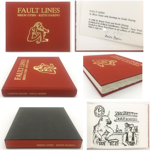 """Keith Haring, '""""Fault Lines"""", 1986, """"Fault Lines"""", 1986, Hardcover Book with Slipcase, SIGNED Edition of 200,', 1986, VINCE fine arts/ephemera"""