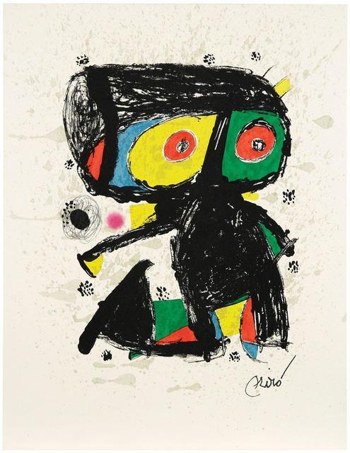 Joan Miró, '15 ans Poligrafa', 1980, Print, Original color lithograph on Guarro paper, Samhart Gallery