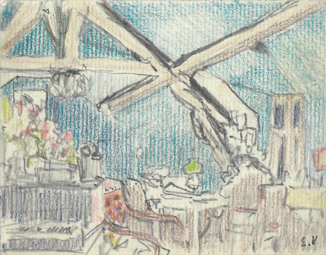 , 'Le Grenier de la Grangette à Valvins,' 1896, Jill Newhouse Gallery