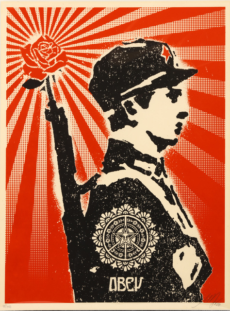 Shepard Fairey (OBEY), 'Rose Soldier', 2006, Chiswick Auctions