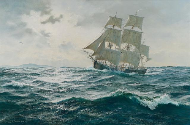 , 'Full Sail,' 20th Century, M.S. Rau Antiques