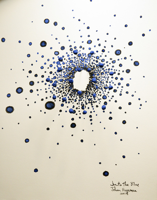 , 'Into the Blue,' 2018, Sue Greenwood Fine Art