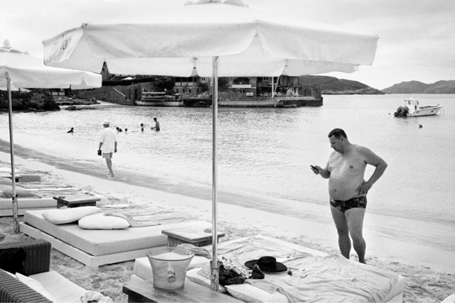 , 'Man at Niki Beach,' 2013, Gallery Valentine