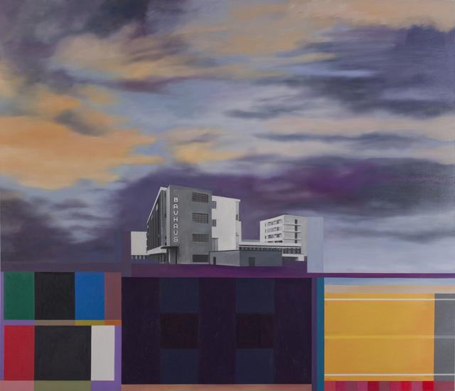Julie Langsam, 'Gropius Landscape: Bauhaus', 2014, 532 Gallery Thomas Jaeckel
