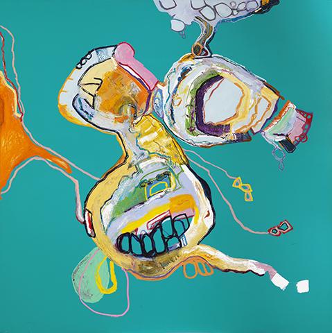 , 'NEFELIBATA #13,' 2017, Walter Wickiser Gallery