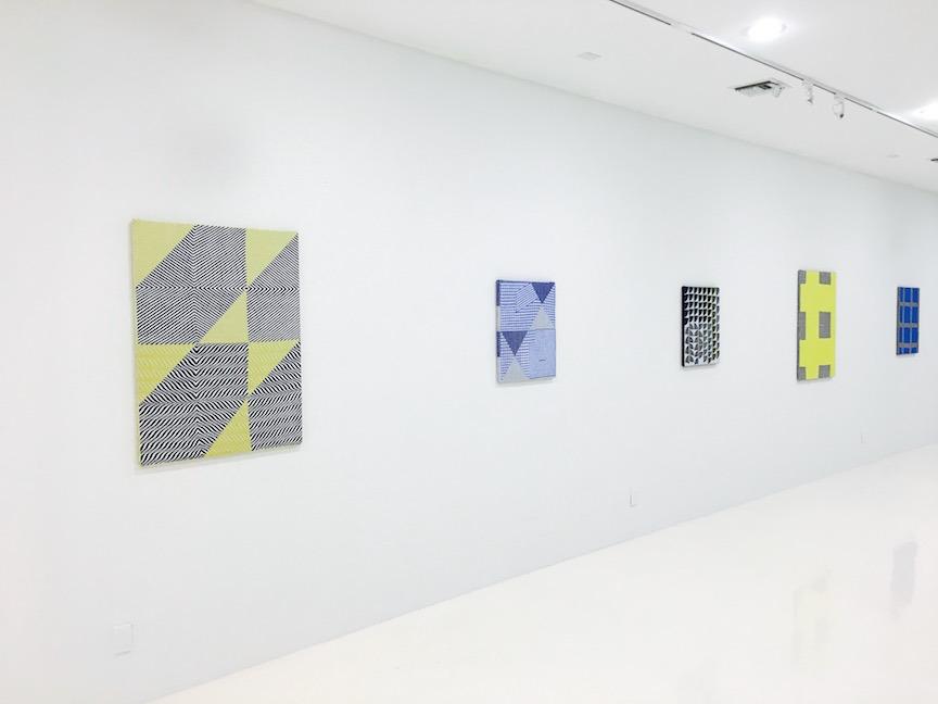 Installation view 4 | Oscillate | Samantha Bittman | C O U N T Y | Palm Beach, FL